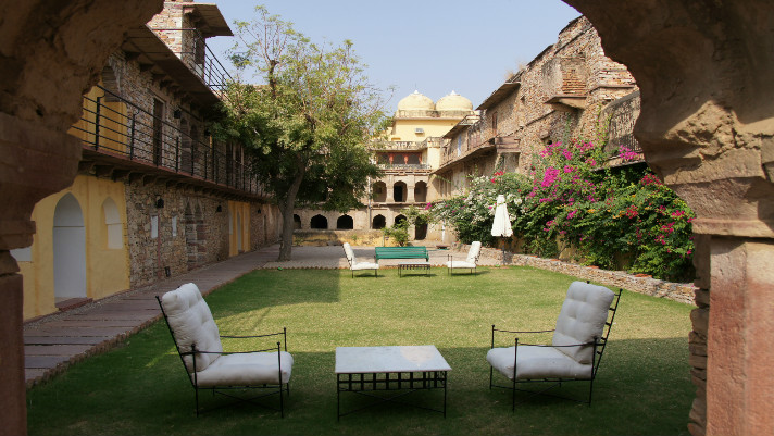 11.RAMATHRA -Inner Courtyard